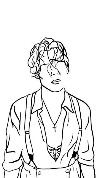 Harry Styles Minimalist  by lilyconstantino | Redbubble Arte One Direction, One Direction Drawings, Harry Styles Dibujo, Harry Styles Drawing, Harry Styles Tattoos, Harry Styles Pictures, Easy Canvas Art, Small Canvas Art, Desenhos One Direction