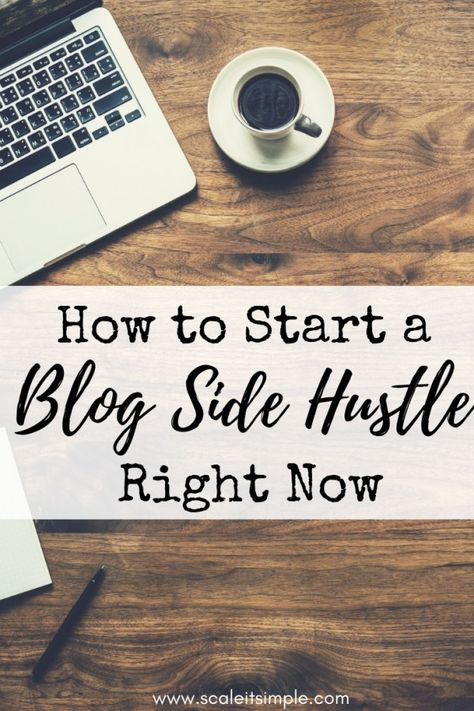 How to Earn Extra Money with your Blog Side Hustle