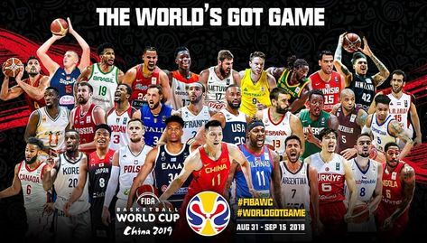 THE WORLD'S GOT GAME FIBA BASKETBALL WORLD CUP 2019 2019年国际蓝联篮球世界杯 The #WorldGotGame #FI... THE WORLD'S GOT GAME FIBA BASKETBALL WORLD CUP 2019 2019年国际蓝联篮球世界杯 The #WorldGotGame #FIBAWC Start On 31 August 2019 Watch Live At Yes8Sg #yes8sg #worldgotgame #flbawc #sportbook #cmd368singapore #cmd368 #m8betsingapore #sbosports #sports #football #basketball #tennis #rebatebonus #cashback #rescuebonus #welcomebonus #dailybonus #rebateupto0.8 #worldcup #livegamecasino #welcomebonus #bigwin #jackpot #bask