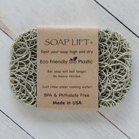 Eco Friendly Soap Lift - Sage Green