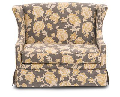 Mcqueen Glider Settee Rowe Furniture Furniture Settee