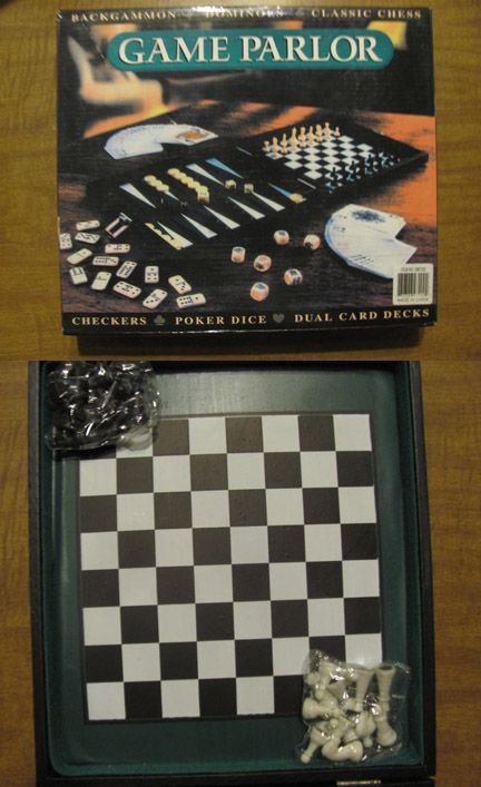 Chess is a two-player strategy board game played on a