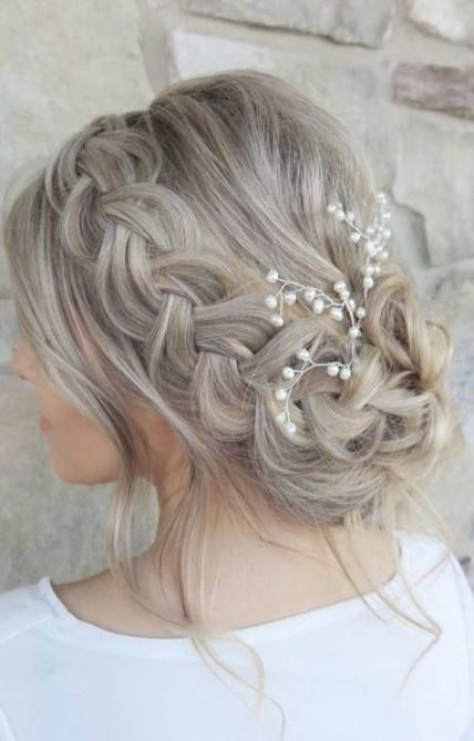 Trendy Wedding Guest Hairstyles For Black Women Long Hair Ideas Hair Wedding Hairstyl Wedding Guest Hairstyles Wedding Hair Inspiration Bridesmaid Hair Updo