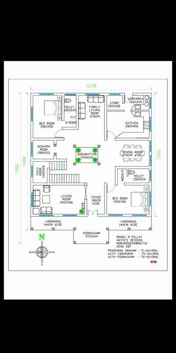 16 1000 Sq Feet House Plans Elizabethmaygar Best In 2020 Square House Plans Kerala House Design Indian House Plans