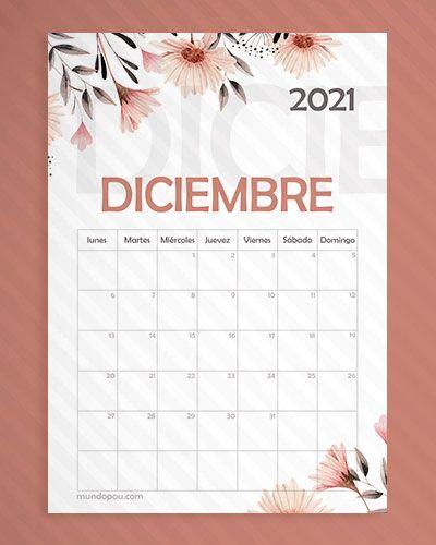calendario de diciembre 2021 en 2020 | Calendarios mensuales