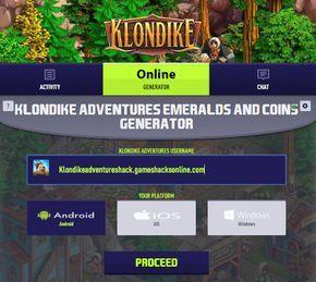 Klondike Adventures Hack Mod Online Get Free Emeralds And Coins Teknologi Tempat