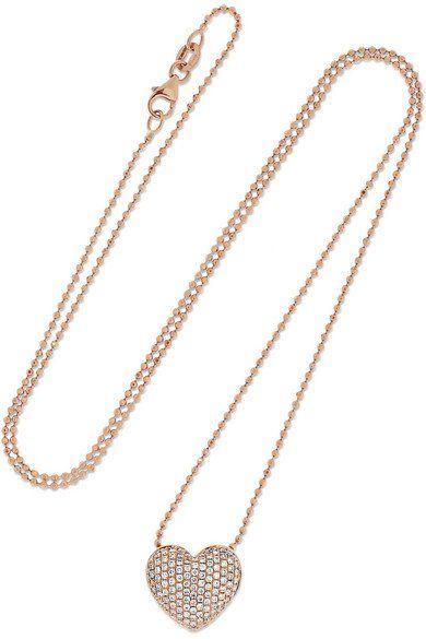 Anita Ko Harlow 18-karat Rose Gold Necklace TxpiadL