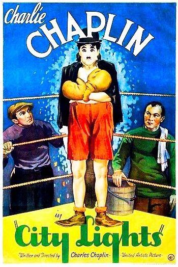 Charlie Chaplin Vintage Movie Poster