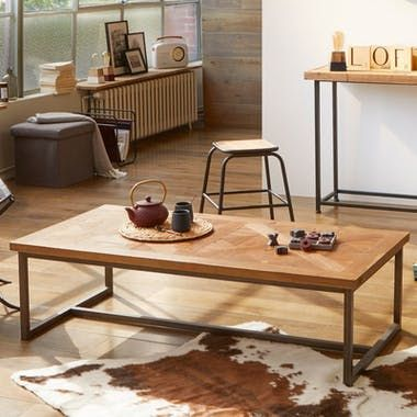 Table Basse Marqueterie 130 Cm Varsovie Table Basse Mobilier De Salon Table