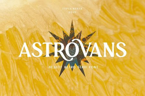 Astrovans - Beauty Summer Vintage Retro Serif - Holiday Traveling Font