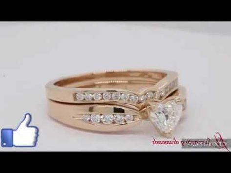 موديلات خواتم للخطوبة أو الزواج من الذهب الأبيض والأصفر Youtube Wedding Rings Engagement Engagement Rings