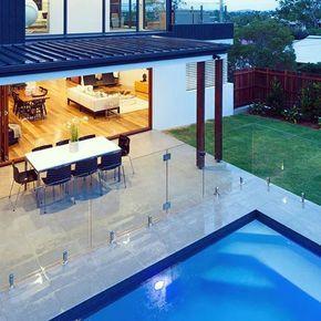 Frameless Glass Pool Fencing Secure Elegant And Modern Framelessglass Poolfence Beautiful Designe Pool Fence Cost Fence Around Pool Glass Pool Fencing
