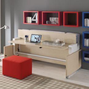All+In+One+letto+a+scomparsa+singolo+con+scrivania+scrittoio ...