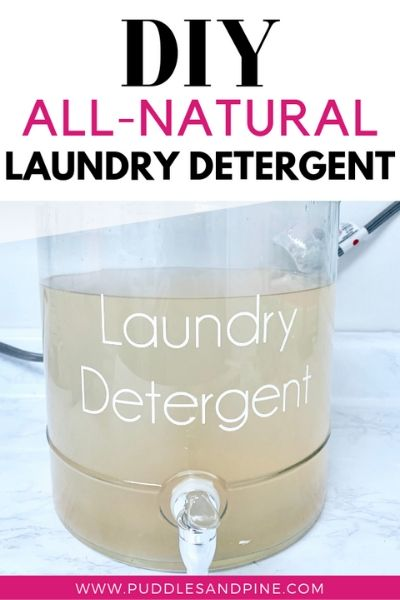 Homemade Non Toxic Laundry Detergent Laundry Detergent All