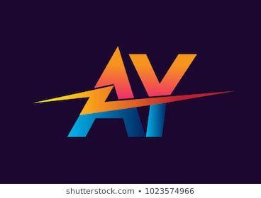 Letter AY logo with Lightning icon, letter combination Power Energy Logo  design for Creative Power ideas, web, business and … | Team logo design,  Logo design, Logos