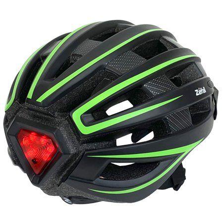 Zefal Light Up Bike Helmet Universal Dial Fit Ages 14 Walmart Com In 2020 Helmet Light Bicycle Helmet