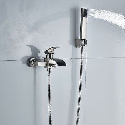 Bathtub Faucet With Hand Shower Wall Mount Tub Faucet Bathtub