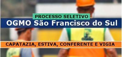 Processo Seletivo Ogmo Sao Francisco Do Sul 2018 Com Imagens