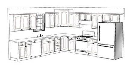 31 New Ideas For Kitchen Design Layout Floor Plans L Shaped Kitchen Newkitchendesignsimages Kitchen Layout Plans Best Kitchen Layout Kitchen Floor Plans