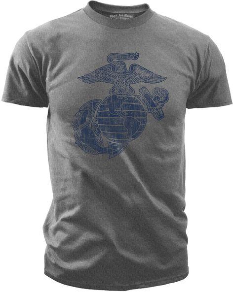 Marine Corps Eagle Globe and Anchor Vietnam Denim Shirt U.S
