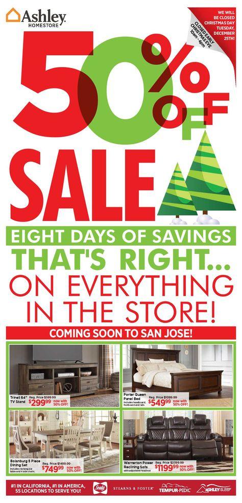 Ashley Furniture Weekly Deals Flyer January 15 21 2019 Ashley