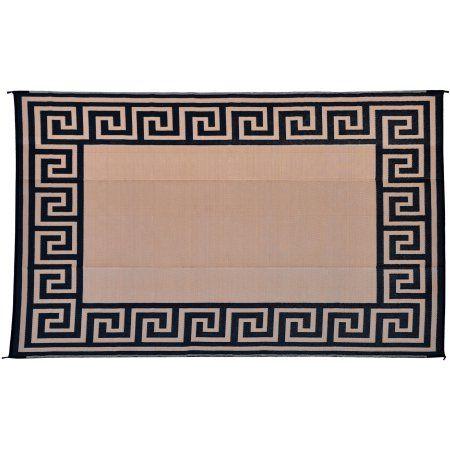 patio mats greek key camping mat