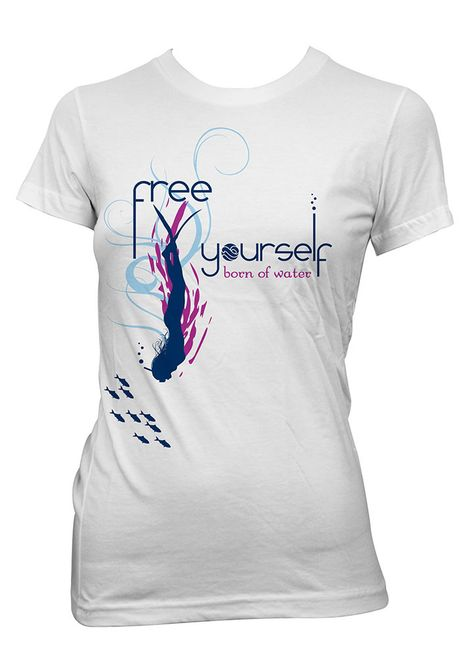Freediving Shirt: Free Yourself