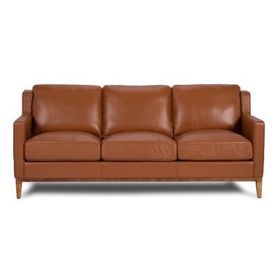 One For Victory Anders Leather Sofa Upholstery Cognac In 2020