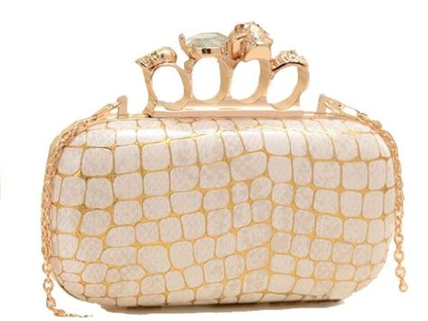 #Damen #neue #Staubtuch #Design-Handtasche in #Ivory #von #aimerfeel #Dessous…