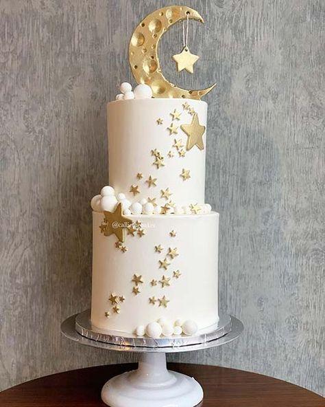 23 Gorgeous Baby Shower Cakes for Girls - Baby shower - Kuchen