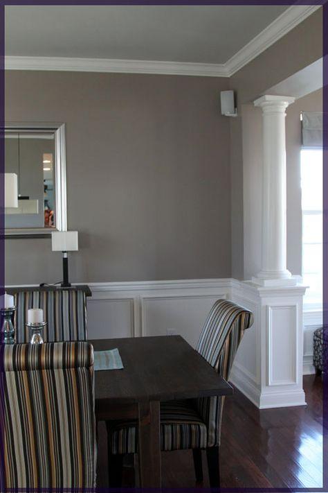 trim and column   House to Home   Pinterest   Comedor polivalente ...