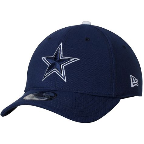 Men s Dallas Cowboys New Era Navy Basic 39THIRTY Flex Hat 154cdc0ad