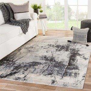 Rectangular 9x12 Contemporary Modern Area Rugs Rugs Direct Area Rugs Jaipur Living Grey Area Rug