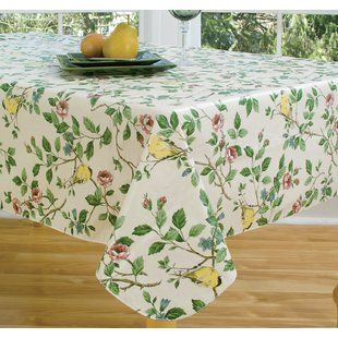 Villeroy Boch French Garden Tablecloth Wayfair Vinyl