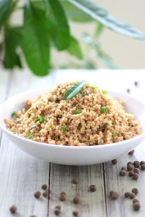 Jamaican Jerk Quinoa