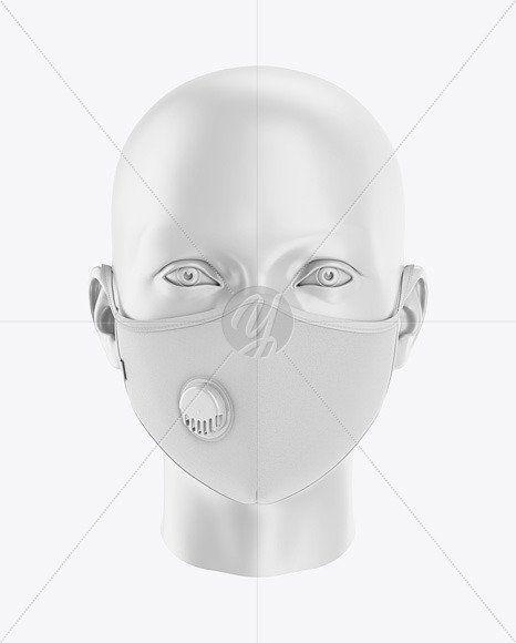 Download Face Mask Mockup Black Clothing Mockup Face Mask Design Mockup Free