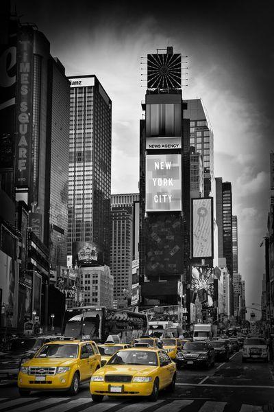 New York City Times Square Von Melanie Viola Bei Artflakes Com