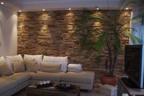 Wohnzimmer Tapezieren Ideen Die Gestaltung Der Wande Mit Felsen Es