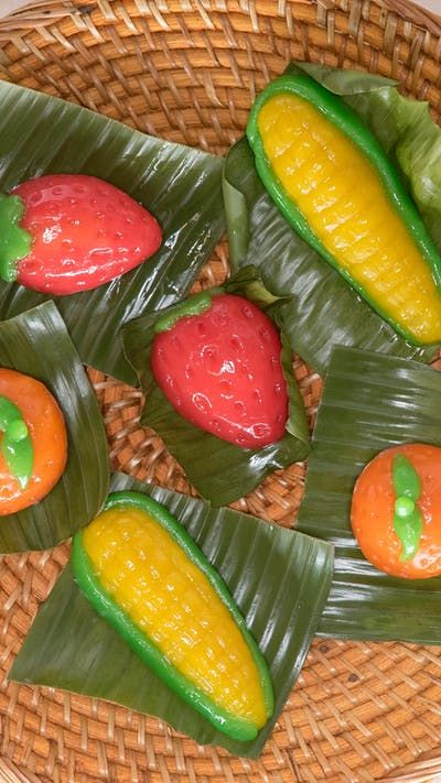 Kue Ku Buah Resep Recipe Watermelon Fruit Food