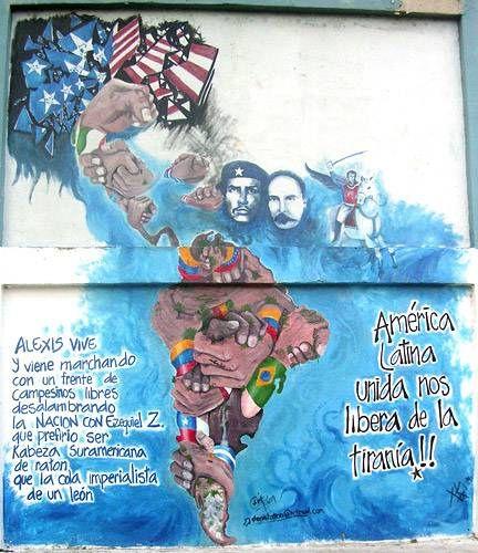 latinoamerica unida dibujos  Buscar con Google  REVOLUCIN
