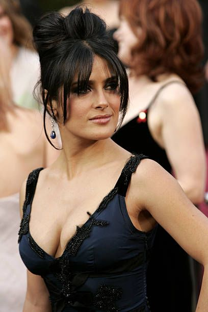 View and license Salma Hayek Cleavage pictures & news photos from Getty Images.