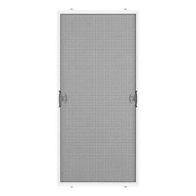 35 75 In X 76 75 In White Reversible Patio Screen Door With