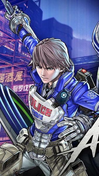 Astral Chain Poster 4k Hd Mobile Smartphone And Pc