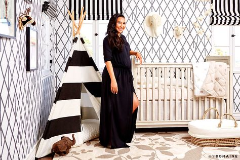 Naya Rivera in her new nursery