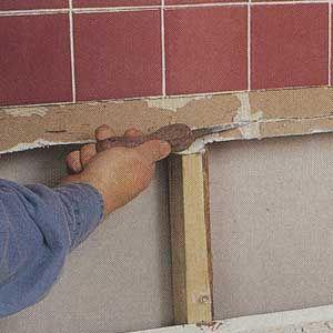 Saving A Soggy Shower Wall Home Fix Home Repair Bathroom Repair