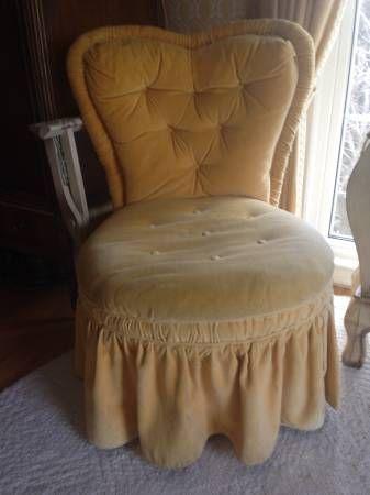 Detroit Craigslist Slipper Chair Chair Velvet Slippers Cotton