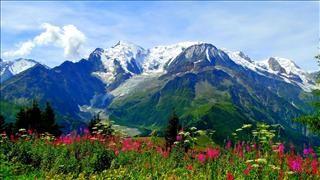 Fonds D Ecran Gratuits Sur Pc Astuces Mont Blanc Fond Ecran Paysage