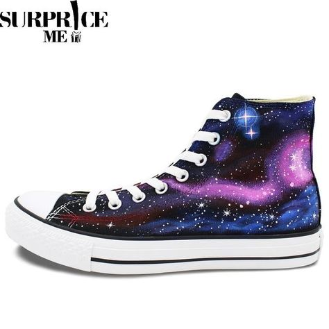 Converse Chuck Taylor All Star Hand Painted Galaxy Of