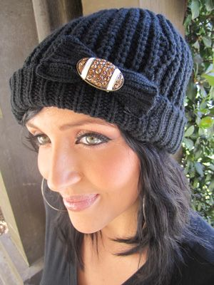 I love this football beanie!  So cute with the bow and bling football.  Must see if we can get this wholesale!!!!