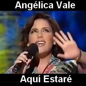 Angelica Vale Aqui Estare Letras Y Acordes Que Me Quedes Tu Letras De Música
